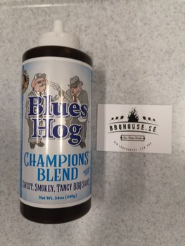 BLUES HOG BBQ 'CHAMPIONS BLEND' BBQ SAUCE (SQUEEZE BOTTLE) - 680g