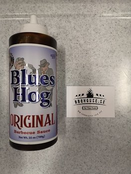 BLUES HOG BBQ 'ORIGINAL' BBQ SAUCE (SQUEEZE BOTTLE) - 708g