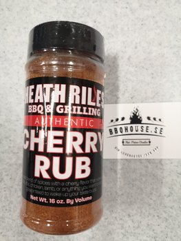 Heath Riles BBQ Cherry Rub - 453g