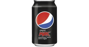 Pepsi max 0,33cl.