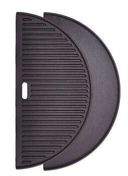 Kamado Joe Cast Iron Half Griddle, Classic Joe