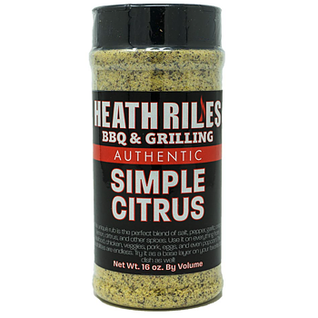 Heath Riles BBQ Peach Rub - 453g