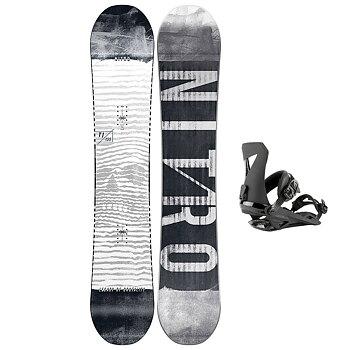 Nitro Snowboards Herren Prime Screen 20 BRD all Mountain Beginner Wide Board f/ür Gro/ße F/ü/ße Snowboard Uomo