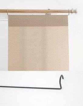 Panelhängare för 16-28 mm gardinstång