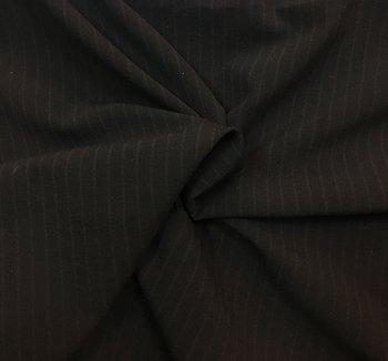 Mörkgrå Kostym Stretch Kritstreck
