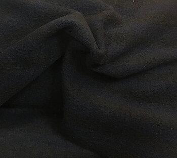 Randigt stickat ylle Blå/Svart