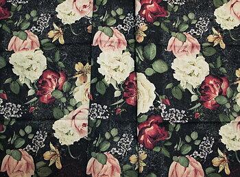 Roses n Mandalas Blå