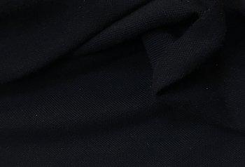 Marinblå piké