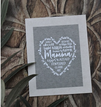 "Small card ""Mamma"" Majas cottage"