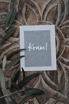 "MAJAS COTTAGE CARD ""KRAM"""