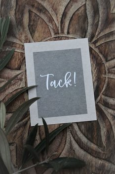 "MAJAS COTTAGE CARD ""TACK"""