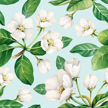 "Minikort ""blomster"" Sköna ting"