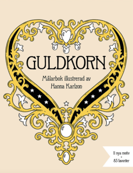 coloring book for adults - guldkorn