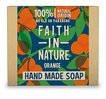 "SOAP ORANGE  ""FAITH IN NATURE"""