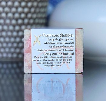 "SOAP ""BRING OUT THE BUBBLY"""