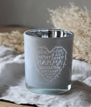 MAMMA candle holder glass