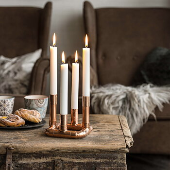 "Candleholder ""Garberg"" - 4 candles (DIY)"