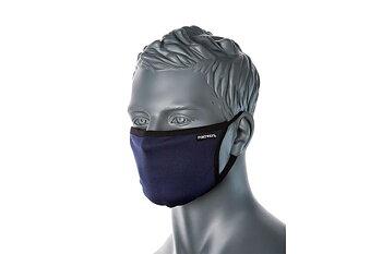 Portwest tvättbart munskydd  3-lager med näsklämma  Svart 25-pack