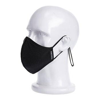 Portwest ansiktsmask Antimikrobisk (tvättbar)