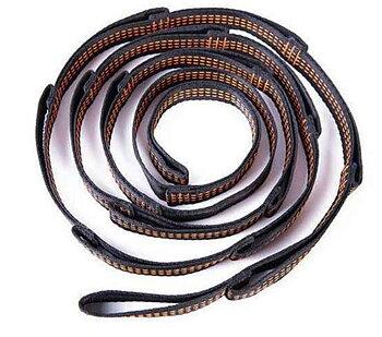 Hammock straps B-shape