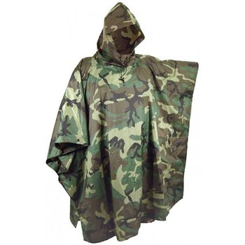 Poncho Deep Forest