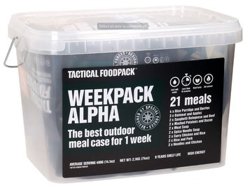 Krislåda nödmat, Tactical Foodpack - Week Pack Alpha