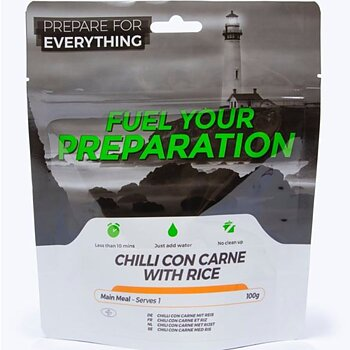 Fuel your preparation - Chilli con carne med ris
