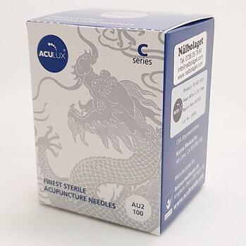 Kvalitetsnål, AcuLux, 0,18*25 mm, 100 st /förpackning