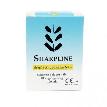 Akupunkturnål med kopparskaft och  silikon, Sharpline 0,20 x 25 mm