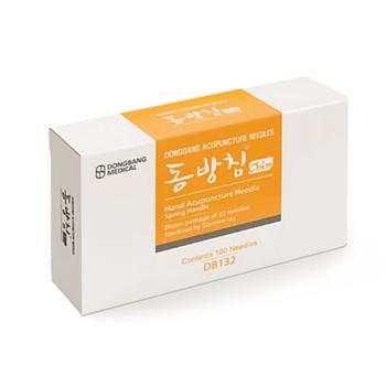 Kosmetisk  hand- och fotakupunkturnål 0,18x8 mm 100 st/ask