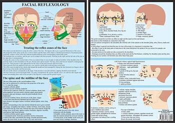 Ansikts reflexiologi - Facial Reflexology, A4