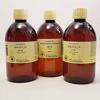 Massageolja - Ekologisk - Tre olika, torr, fet, baby  500 ml