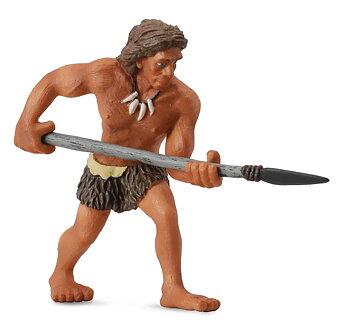 Neandertalare - man med spjut