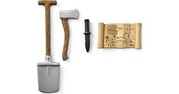Spade, karta, yxa & kniv - Schleich Wild Life