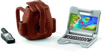Ryggsäck, dator & telefon - Schleich Wild Life