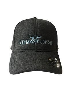 Caps grå med brodert logo