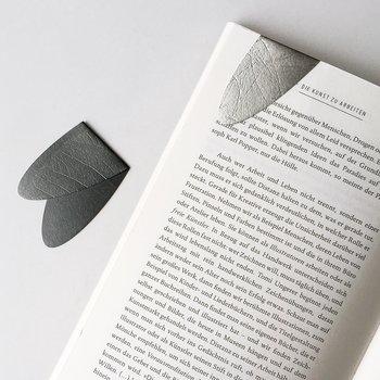 Lesezeichen in Silber