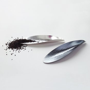 Teekelle in Silber