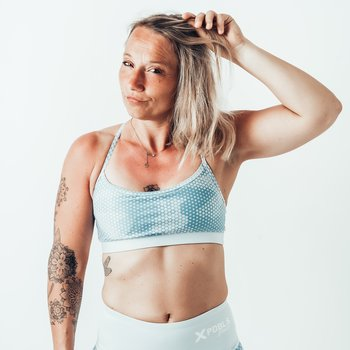 Sport BH -  Skinny strap - CAMOHEX