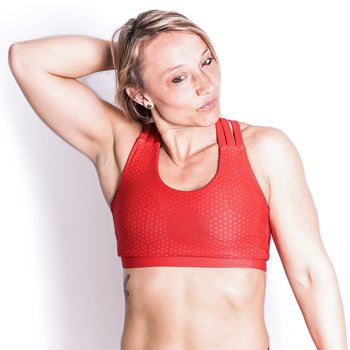 Sport Bra  - HEX Red