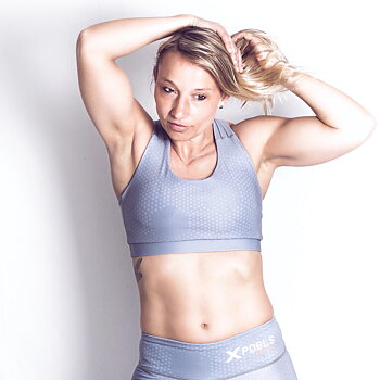 Sport Bra  - HEX Light grey