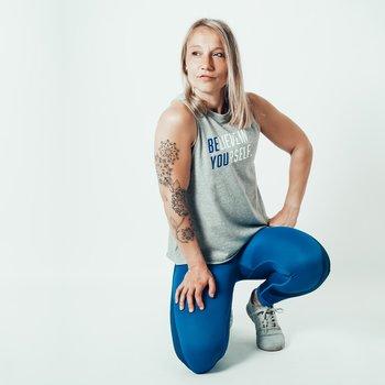 Muscle Tank grå - BE YOU