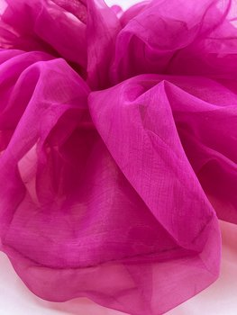 Charisma Hair Accessories Scrunchie Organza Purple