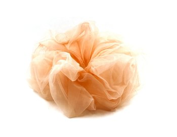 Charisma Hair Accessories Scrunchie Organza Peach
