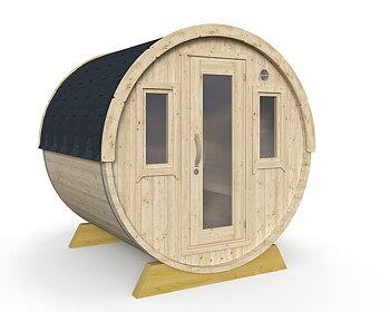 Fass-Sauna WALL