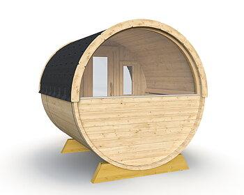 Fass-Sauna DEMILUNE