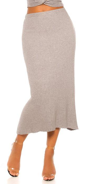 koucla KNIT PENCIL kjol