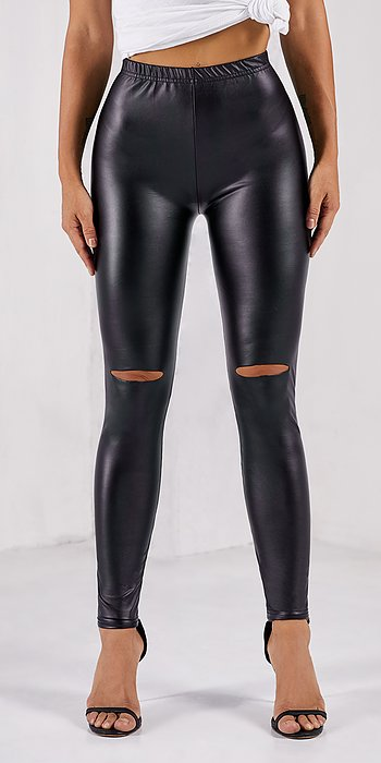 koucla LEATHERLOOK Leggings