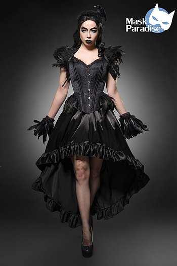 Mask Paradise® Gothic Crow Lady