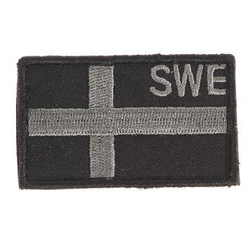 LITEN SVENSK FLAGGA -12